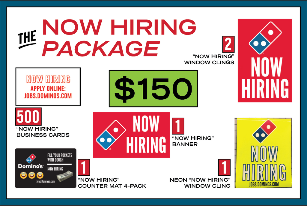 "LOGO NETWORK SPECIAL - ""NOW HIRING!"" PACKAGE"