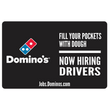 "10x15 ""Now Hiring Drivers"" Counter Mat 4-Pack"