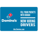 "11x17 ""Now Hiring Drivers"" Counter Mat 4-Pack"