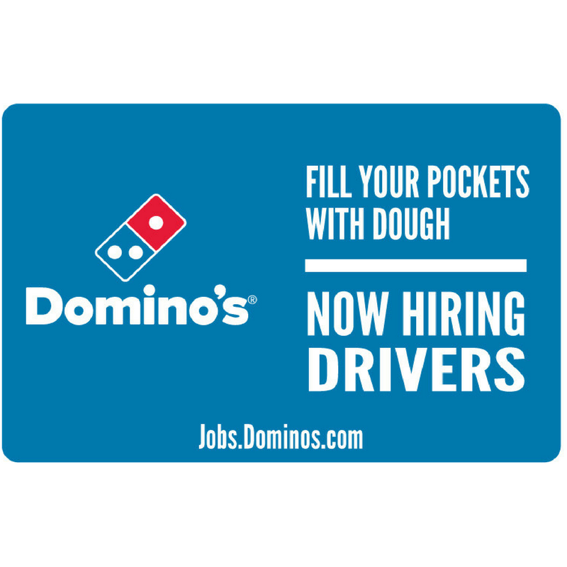 """Now Hiring Drivers"" Yard Sign"