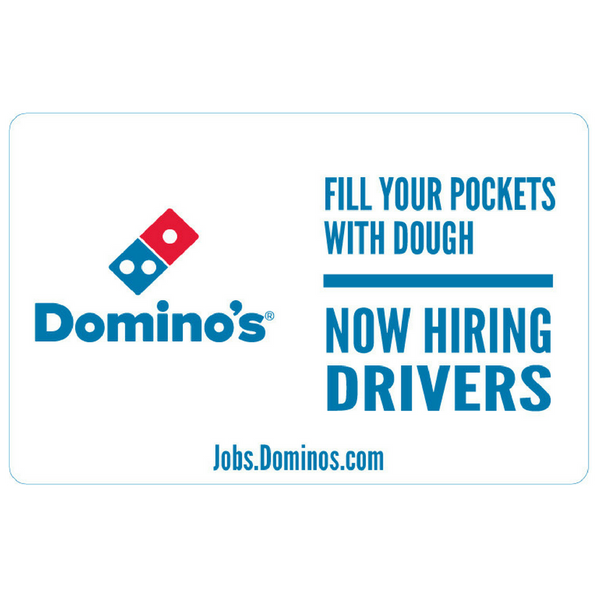 Quot Now Hiring Drivers Quot Banner Dddomino S