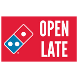 """Open Late"" Yard Sign"