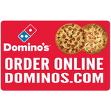 """Order Online"" Double Pizza 2'x3' Wobble Board"