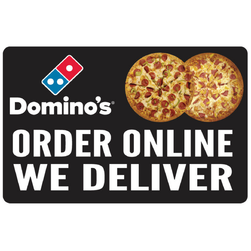 """Order Online, We Deliver"" 2'x4' Wobble Board"