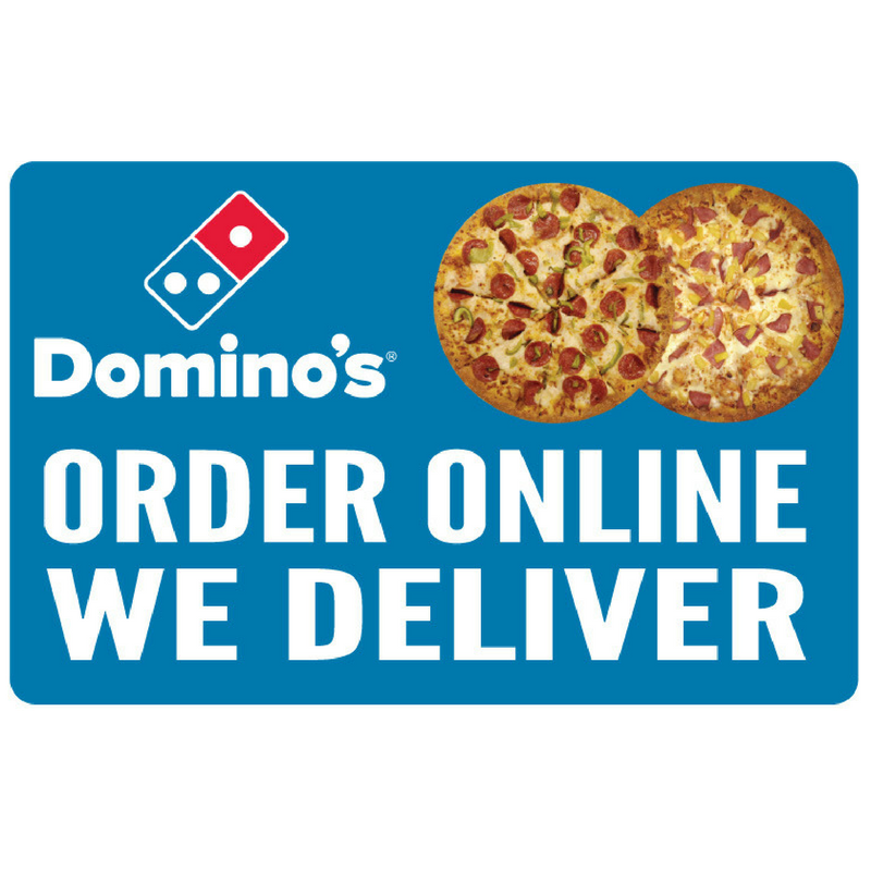 """Order Online We Deliver"" Yard Sign"