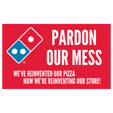 """Pardon Our Mess"" Yard Sign"