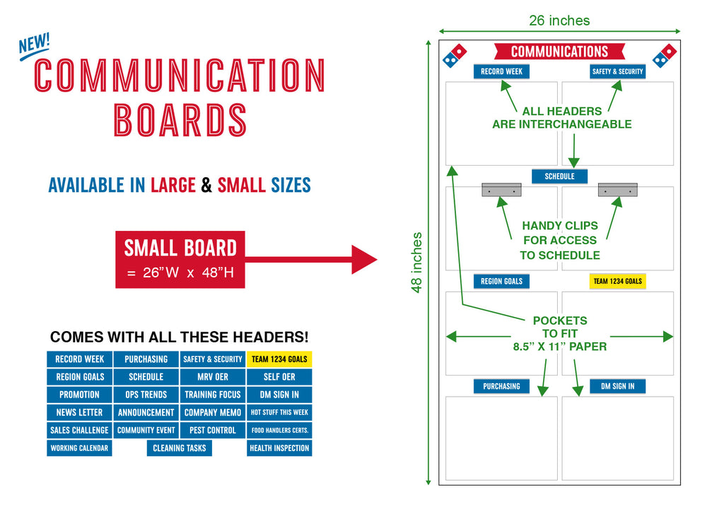Small Communication Board