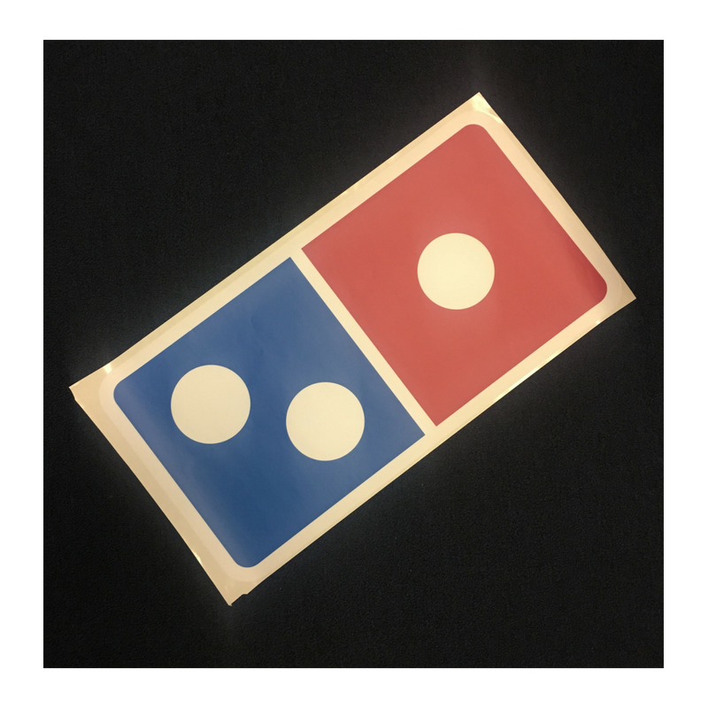 Domino's Tile Decal