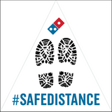 Safe Distance Decal 5-Pack