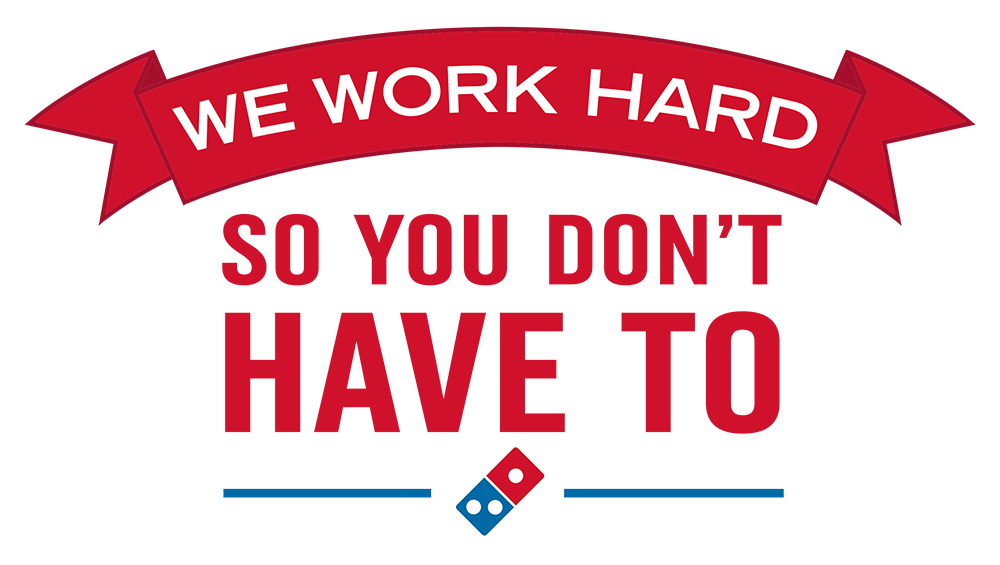 """We Work Hard"" Graphic"