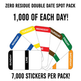 ZERO RESIDUE DOUBLE DATE SPOT PACK
