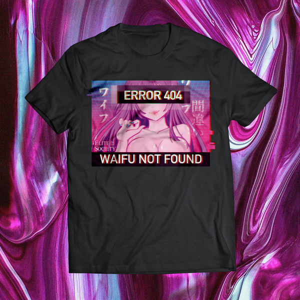 Elite Society 404 Error Anime Shirt