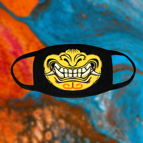 Oni 2 Face Mask - Yellow