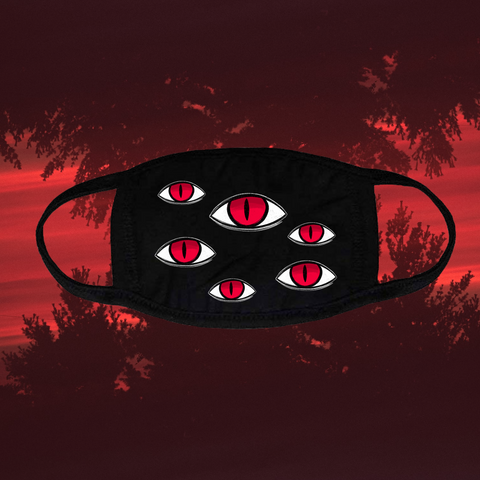 ES Spooky Eyes Face Mask