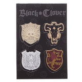 Black Clover Lanyard + Sticker Set