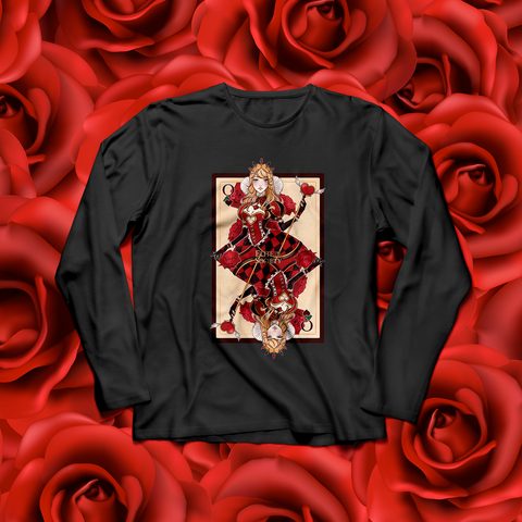 ES Queen of Hearts Long Sleeves Shirt