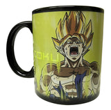Dragon Ball Z Color Change Coffee Mug Goku Super Saiyan 2