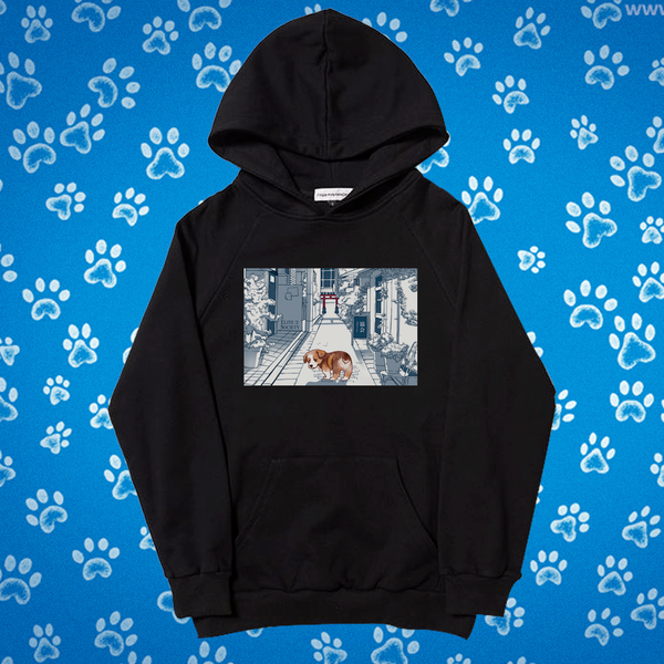 ES Exclusive Sad Puppy Hoodie