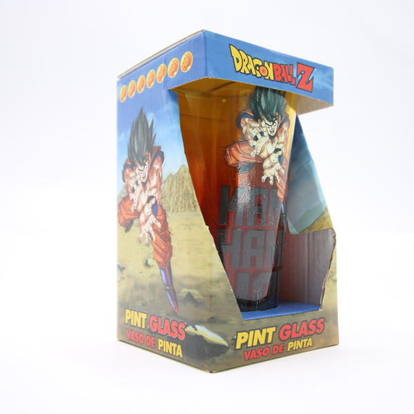 Dragon Ball Z Pint Glass Goku Kamehameha