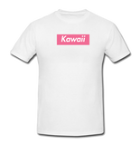 Kawaii Pink Box Logo Shirt