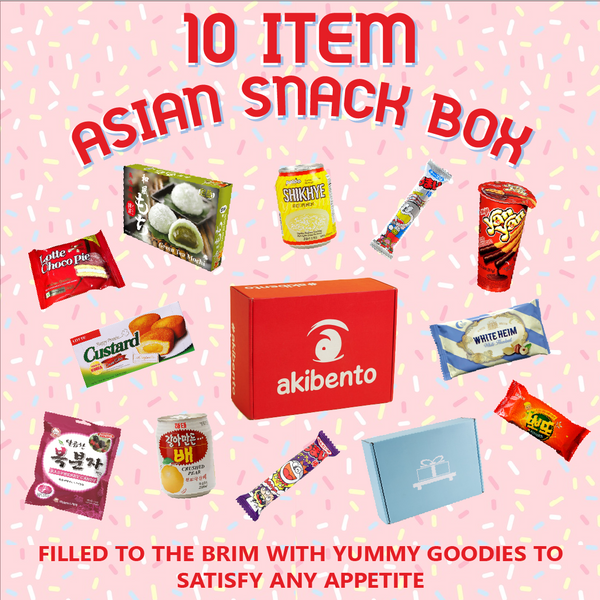 Asian Snack Bundle - 10 Counts