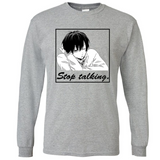 Stop Talking Box Long Sleeves Shirt