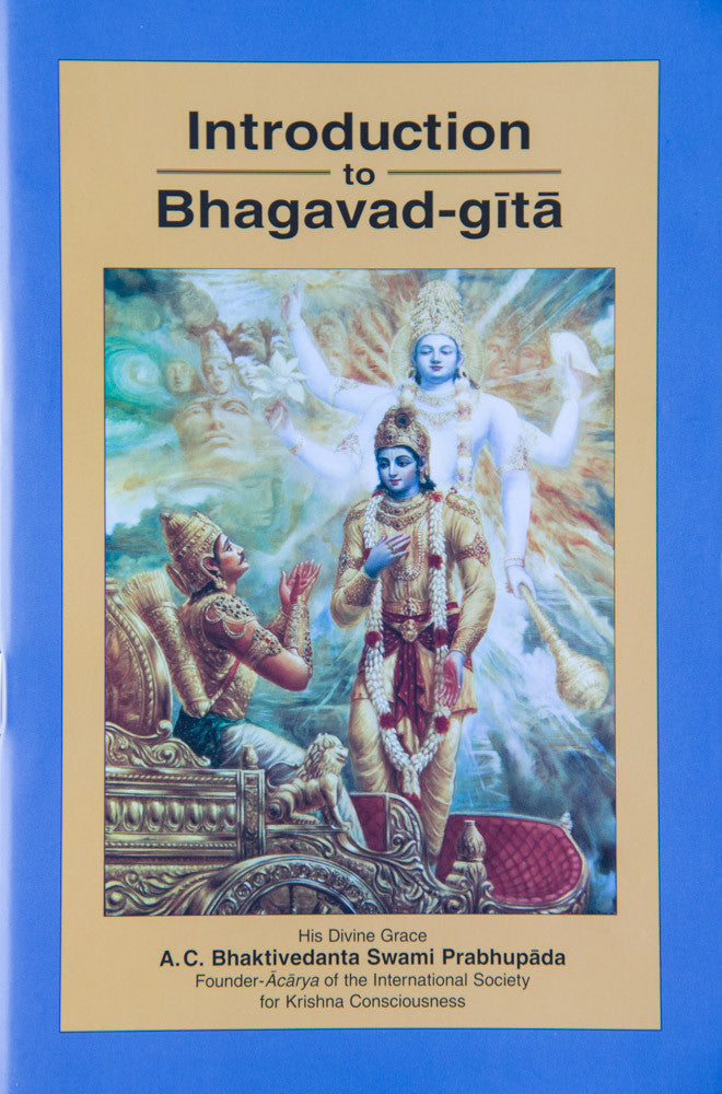 Introduction to Bhagavad-gita As It Is
