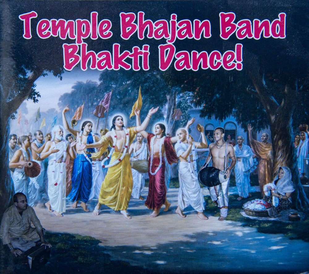 Temple Bhajan Band Bhakti Dance!