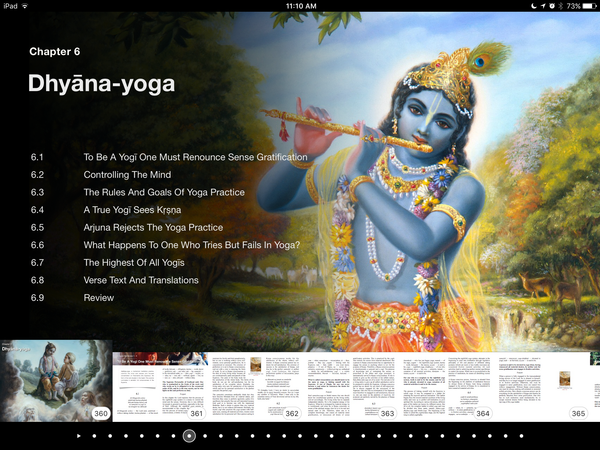 """VIBe"" Visual Interactive Bhagavad-gita As It Is eBook"