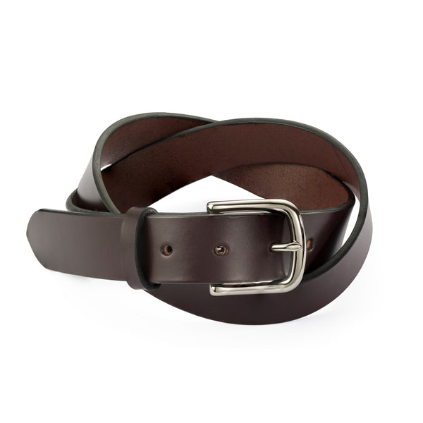 Classic Men's Dark Brown Belt