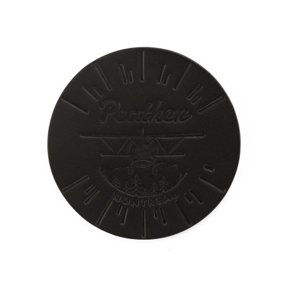 Montreal Black Coaster Set