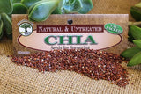Chia seeds Botanical name: Salvia hispanica