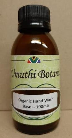 Organic Hand and Body Wash Base 100mls