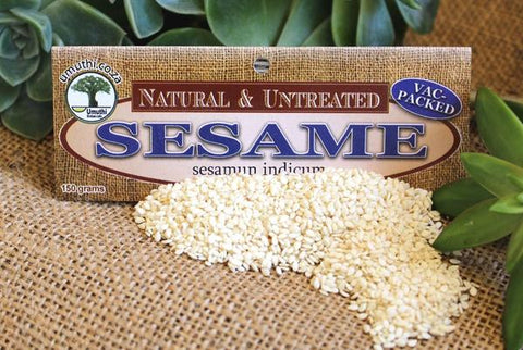 Sesame seeds Botanical name: Sesamum indicum