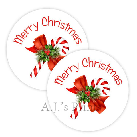 Christmas Stickers - Printed