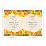 Country Sunflowers Bridal Shower Invitation
