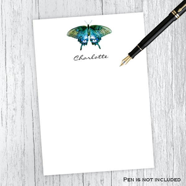 Butterfly Personalized Notepad