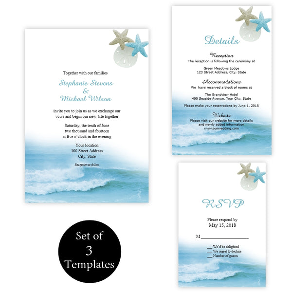Ocean Waves Wedding Suite