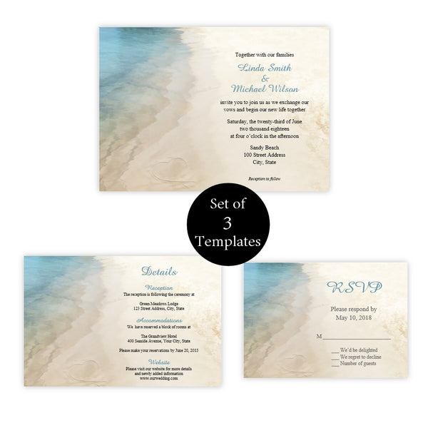 Sandy Beach Wedding Suite