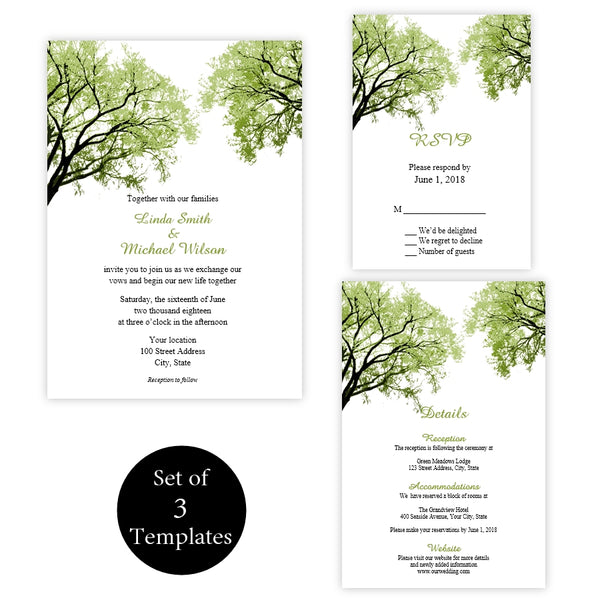 Spring Trees Wedding Suite