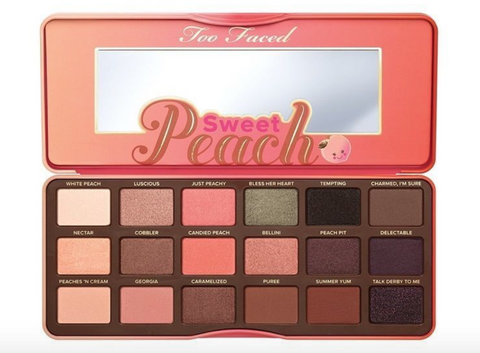 Sweet Peach Eye Shadow Palette Too Faced®