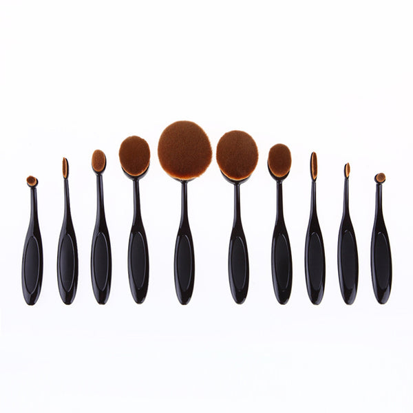 10 Pcs Makeup Brushes