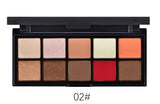 10 Colours Eyeshadow Palette