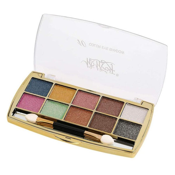 10 Colours Eye Shadow Palette Long Lasting