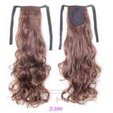 "21"" 110g  Synthetic  Ponytail  Curly"
