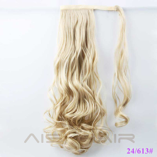 "22"" - 120g  Synthetic Ponytail Curly"