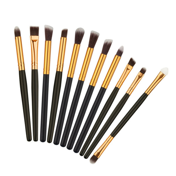 11 Pcs Make Up Brushes Set