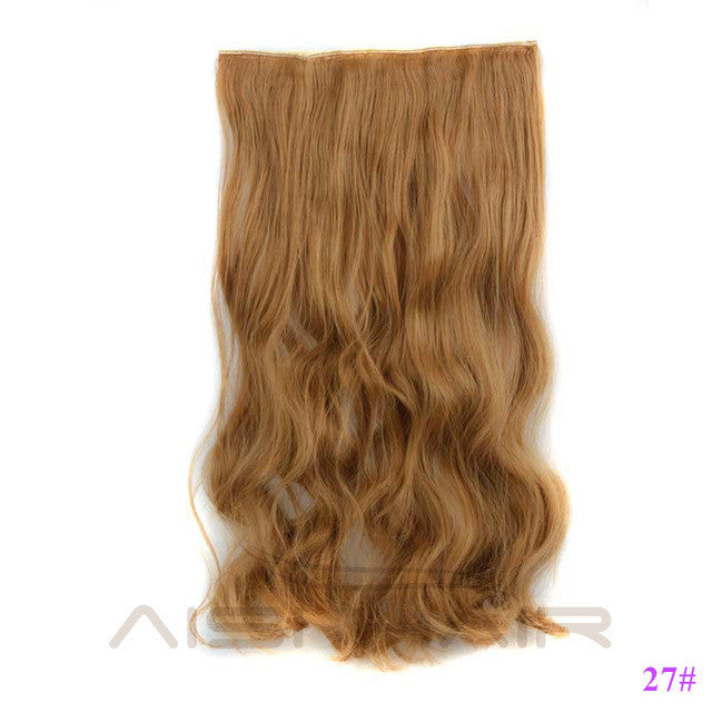 24 1 Piece Synthetic 5 Clip In Hair Extensions Beautyateliershop