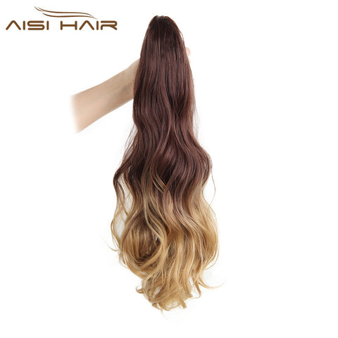 "19"" Ombre Clip in Ponytail"