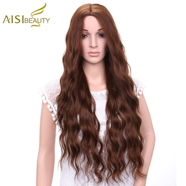 "30"" Synthetic Wig Curly"